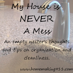My House is Never a Mess