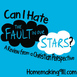 "Can I Hate the Movie, ""The Fault in Our Stars?"" – A Review from a Christian Perspective"