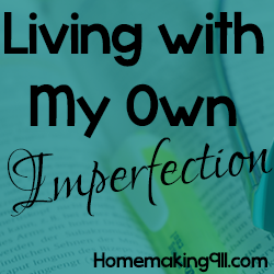 Living With My Own Imperfection – Revisited