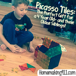 Picasso Tiles: Perfect Gift for a Four-Year-Old