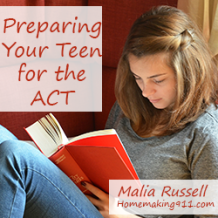 Preparing Your Teen for the ACT